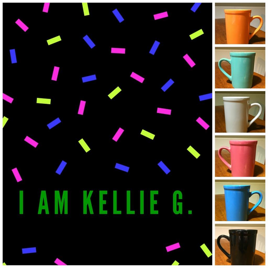 Confetti Mug Collage